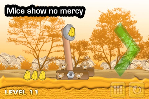 Cheese Catapult - Mouse Vs Cat - Angry Throw Attack Season Free screenshot 2