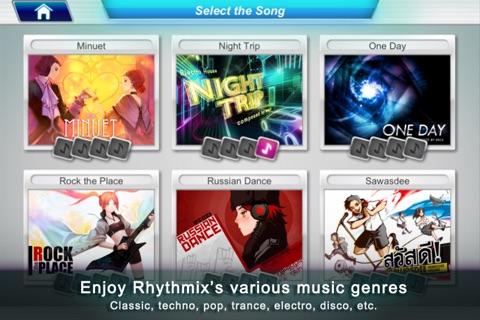 Rhythmix for iPhone Screenshot