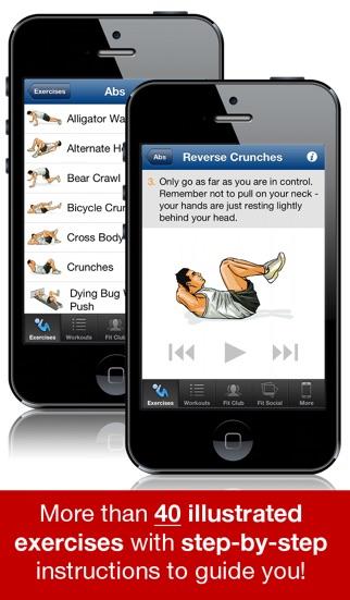 Ab Workouts Pro Screenshot 3