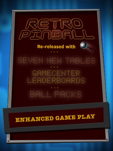 Screenshots of Retro Pinball for iPad