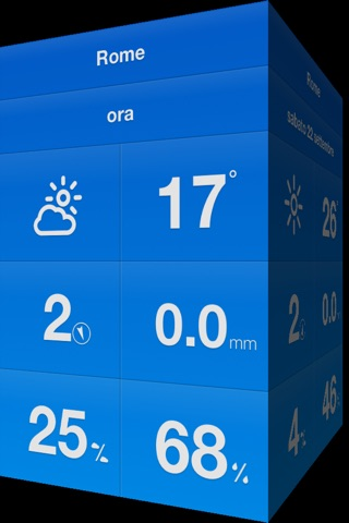 Weathercube - Gestural Weather screenshot 1