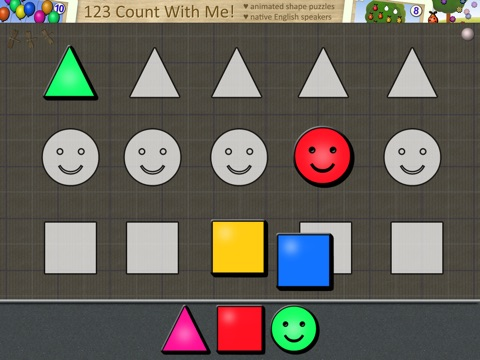 ABC Magnetic Pages: Fun Animated Shape Puzzles for Kids and Toddlers Lite screenshot 1