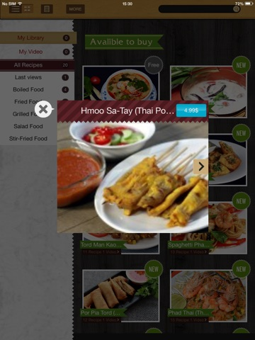 Thai Cooking Recipes screenshot 4