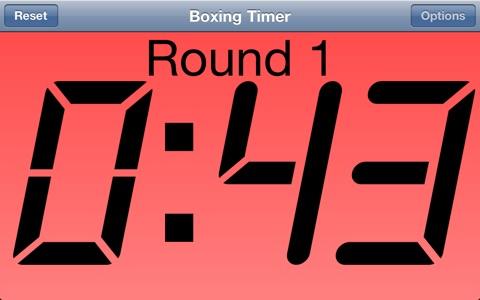 Boxing Timer screenshot 3