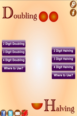 Mental Math Challenge Doubling And Halving screenshot 1