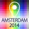 離線地圖阿姆斯特丹 - 指南,景點和交通