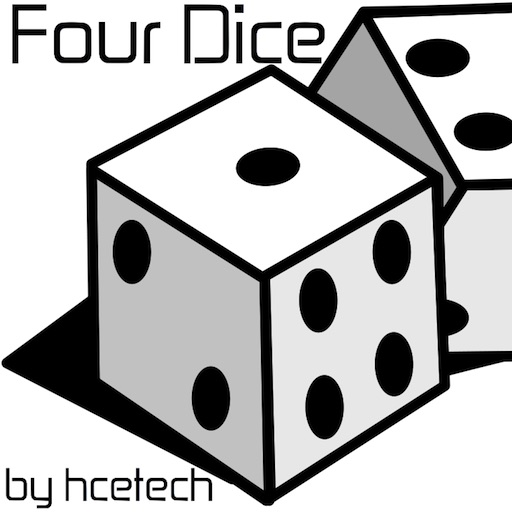 Four Dice iOS App