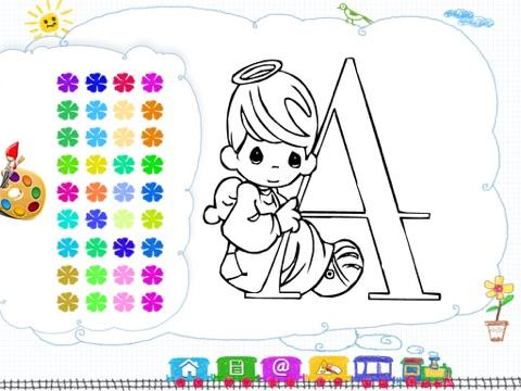 Color My Alphabet