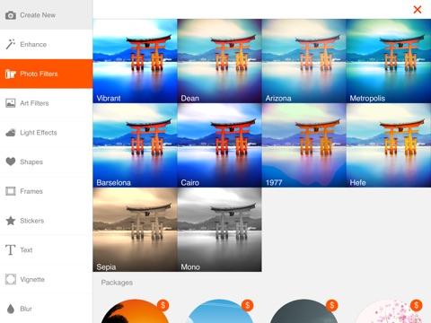 Screenshot #5 pour Phoenix Photo Editor HD