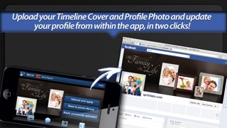 Screenshot #10 for Photo Covers for Facebook: Timeline Editor