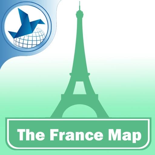 法国离线地图旅游版