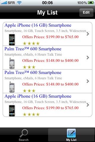 ShopPricesCapture d'écran de 3