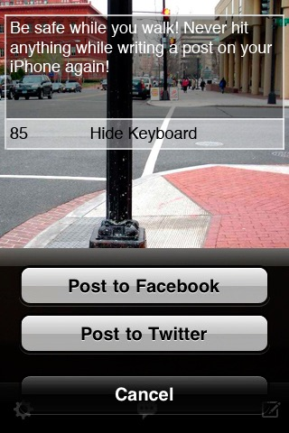 Text Vision Lite! Walk and Compose Posts Safely screenshot 3