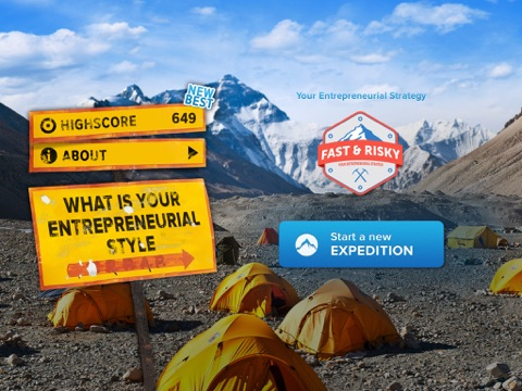 Climbing Everest: What is your entrepreneurial strategy? screenshot 4