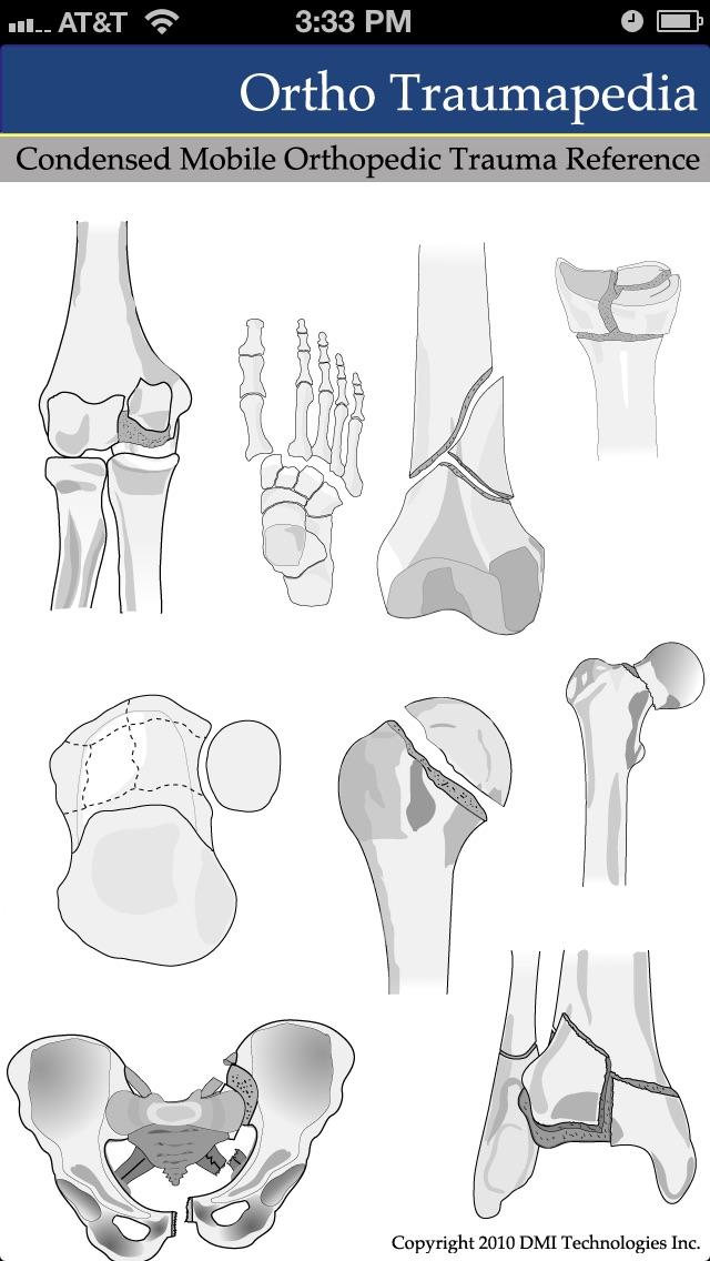 Ortho Traumapedia Screenshot 1