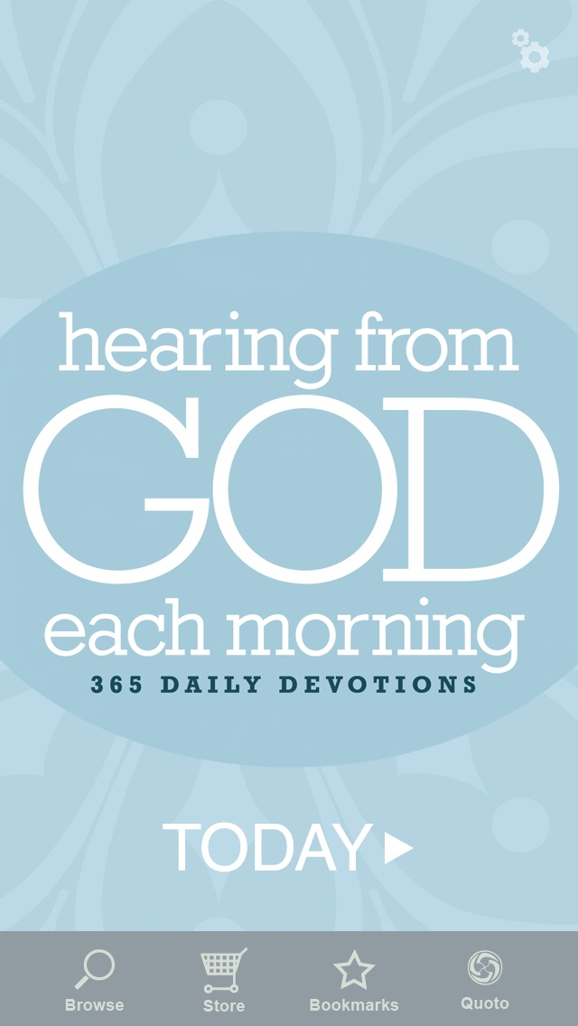 Screenshot for Hearing from God Each Morning in United States App Store