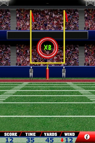 Field Goal Frenzy™ Football - The Classic Arcade Field Goal Kicking Game screenshot 2