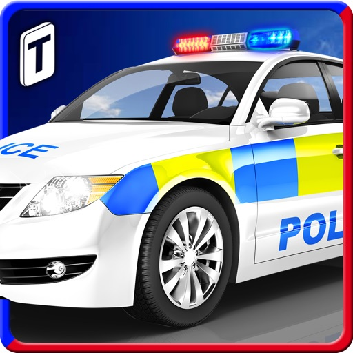 Police Car Parking 3D : Awesome Cop Training Simulator iOS App