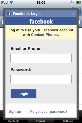 download Contact Photos for Facebook apps 0