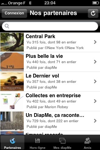 DiapMe Free screenshot 1