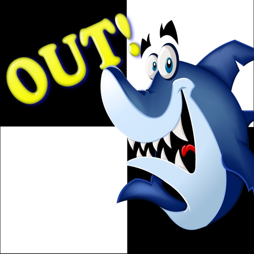 Do Step The White Tile - Don't Get The Shark or You're Out! iOS App