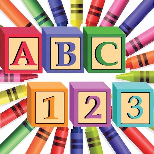 Learn ABC & 123 HD iOS App