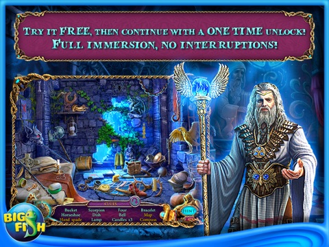 Mystery of the Ancients: Three Guardians HD - A Hidden Object Game App with Adventure, Puzzles & Hidden Objects for iPad screenshot 1