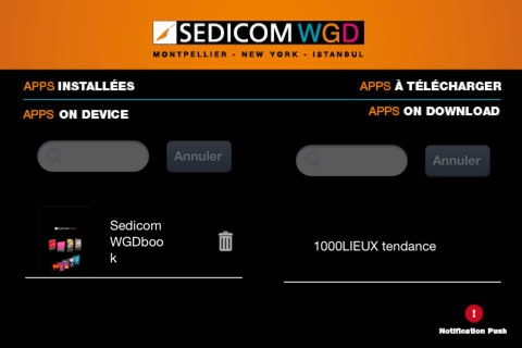 Sedicom WGD World Grafic Design sedicom screenshot 3