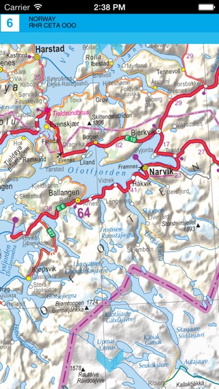 Norway Road Map On The App Store - Norway map app