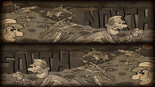 NORTH & SOUTH - The Game (Pocket Edition) Screenshot