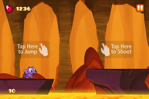 Run Dragon Baby - Free Jump Lava for Magic Gems Edition screenshot 3