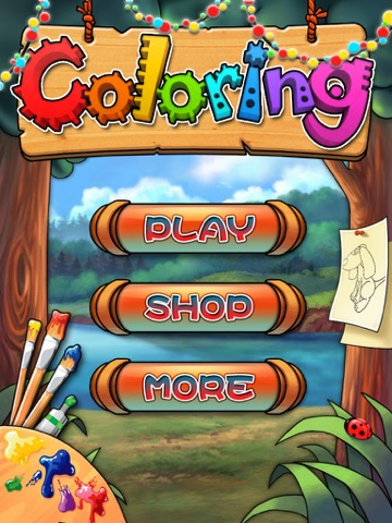 Pet Coloring Book HD-Draw game screenshot 3