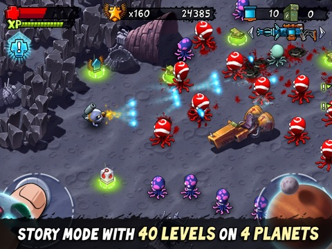 Monster Shooter - Dual-Stick Mayhem Perfected! для iPad