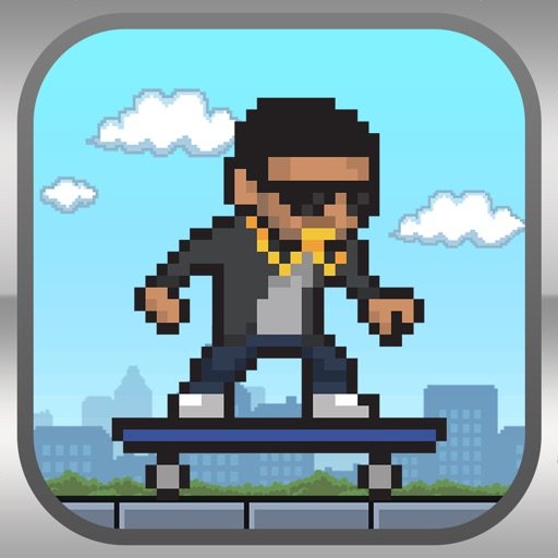 Tiny Skating Drizzy - Smash Hit Skyline Extreme Skaters Experience iOS App