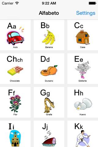 Flash CardZ! - Alfabeto screenshot 2