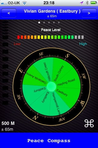 Peace Compass screenshot 2