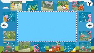 Puzzle de la mer - jeu de puzzles pour enfants en bas âge et les parents! Apprendre avec des poissons, anguilles, crabes, tortues, l'eau, océan, requin de la maternelle, école maternelle et l'école maternelleCapture d'écran de 4