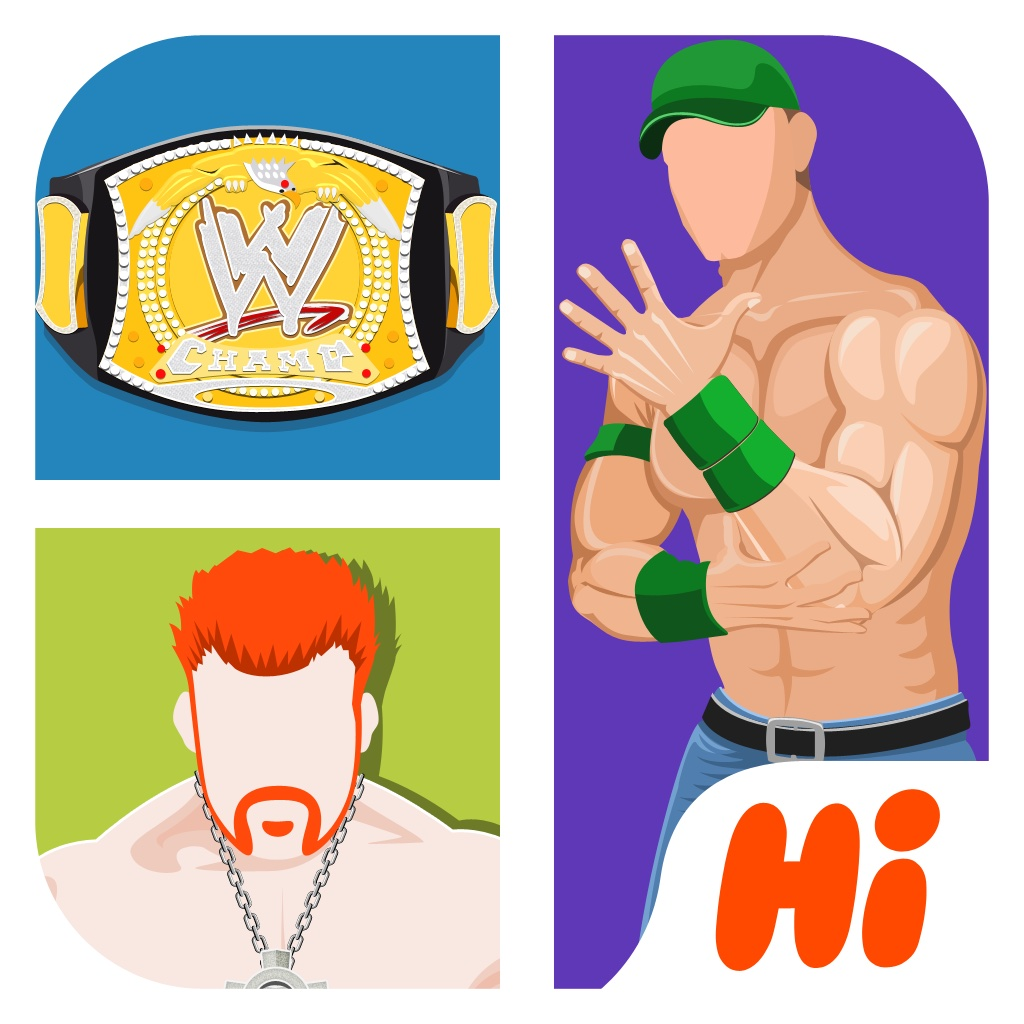 Hi Guess the Wrestling Star iOS App