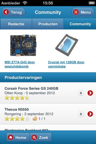 Hardware.Info Web App screenshot 3
