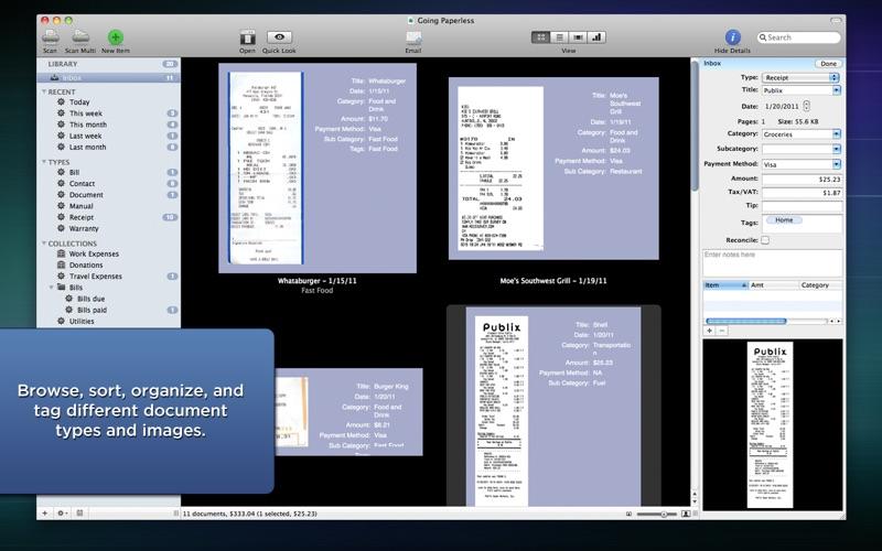 Paperless Screenshots