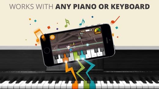 Piano Dust Buster by JoyTunes Screenshot