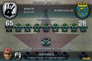 Screenshot #2 pour Speedball 2 Evolution