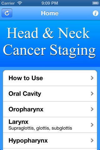 Head & Neck TNM Staging screenshot 1