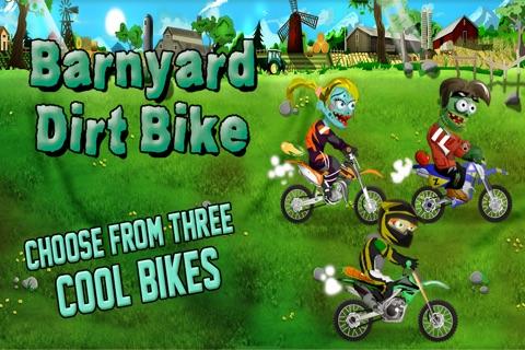 Barnyard Dirt Bike Moto X Racing - An action packed farmland dirtbike and motocross game screenshot 2