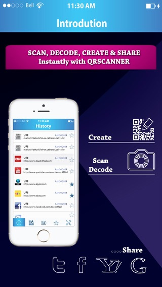 Turbo QR Scanner Pro - Scan, Decode, Create, Generate Barcode & QR Code Reader instantly Screenshot