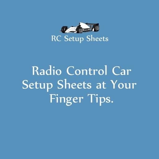 RC Setup Sheets