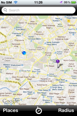 Place Finder screenshot 2