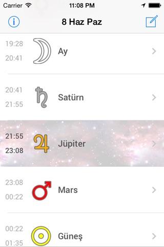 Yıldız Saati screenshot 1