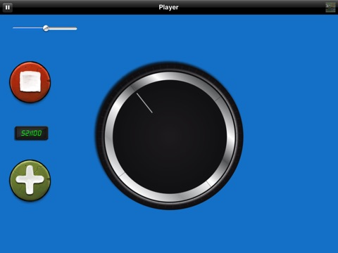 Big Volume Wheel for iPad (w/Mute) screenshot 4