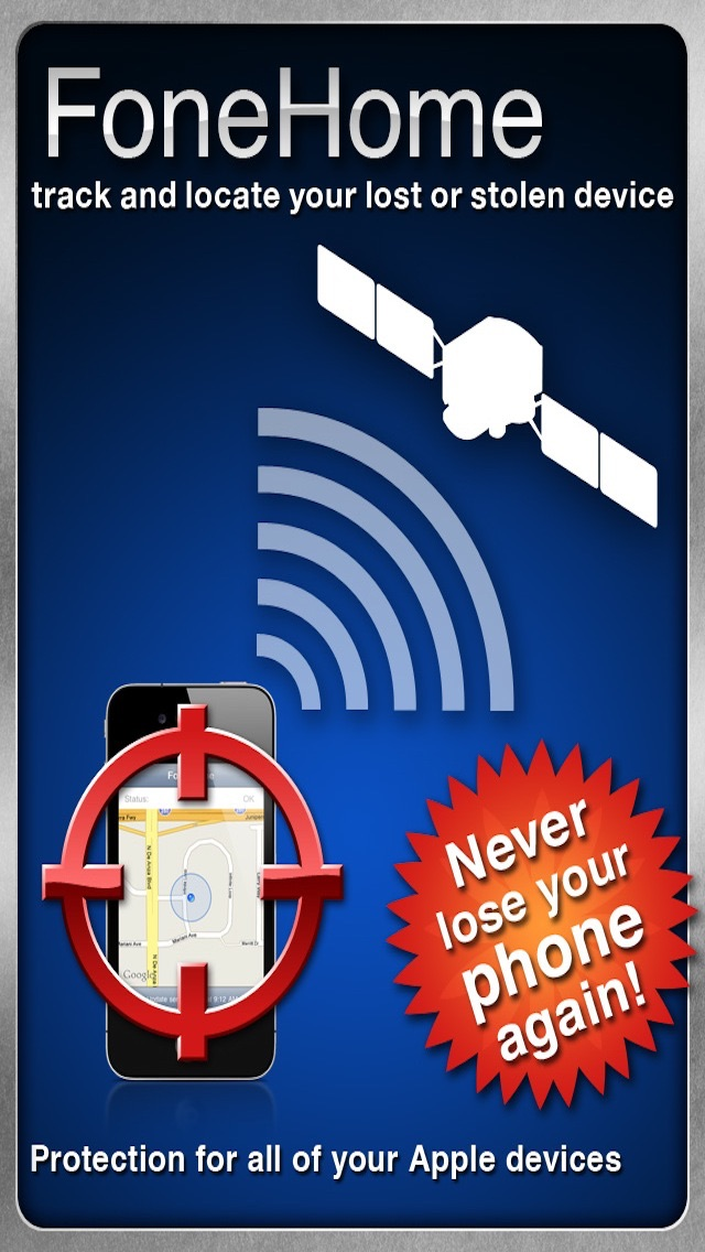 Screenshots of FoneHome - A Phone Tracker to Find and Locate Your Lost or Stolen Device for iPhone